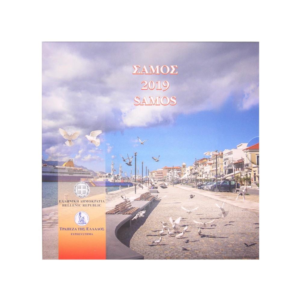 Griekenland BU-set 2019 'Samos'