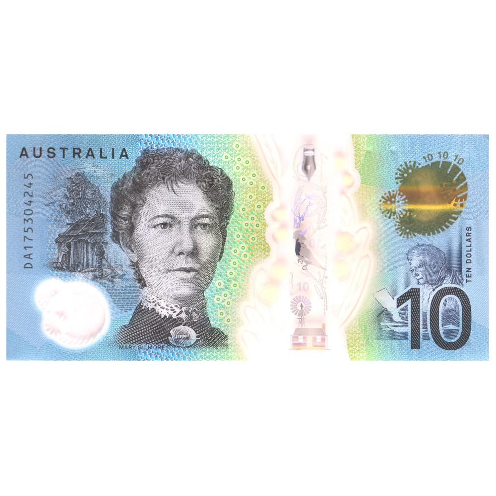 Australia 10 Dollar 2017