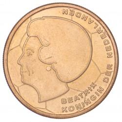 Koninkrijksmunten Nederland 5 gulden EK-Vijfje