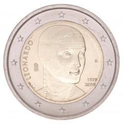 Italië 2 euro 2019 'Leonardo da Vinci'
