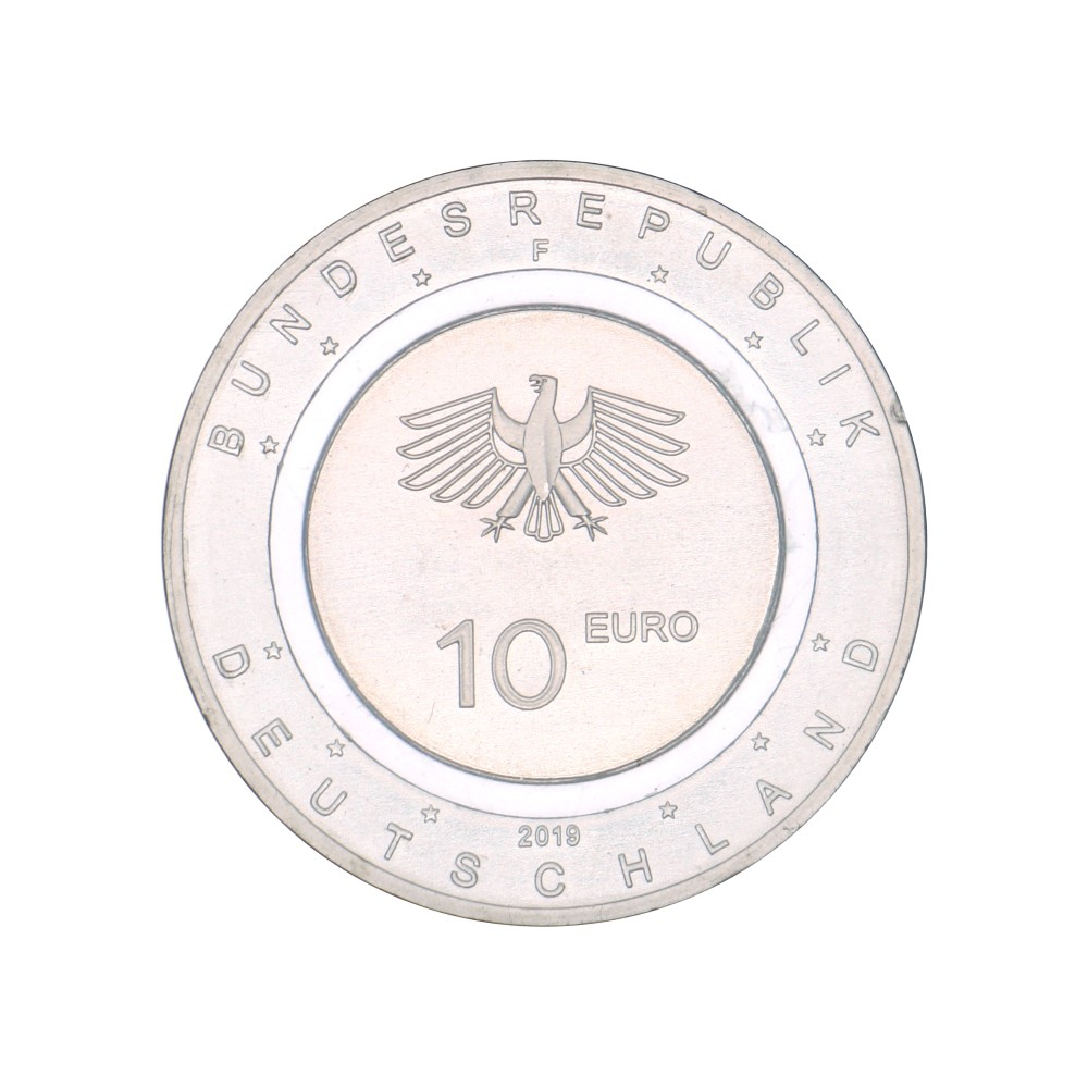 Duitsland 10 euro 2019 'In de lucht' Serie Letters A,D,F,G en J