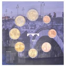 Nederland serie euromunten 2017 'Muntmeesterteken Sint Servaasbrug'