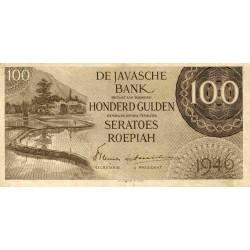 Nederlands Indië 100 gulden 1946