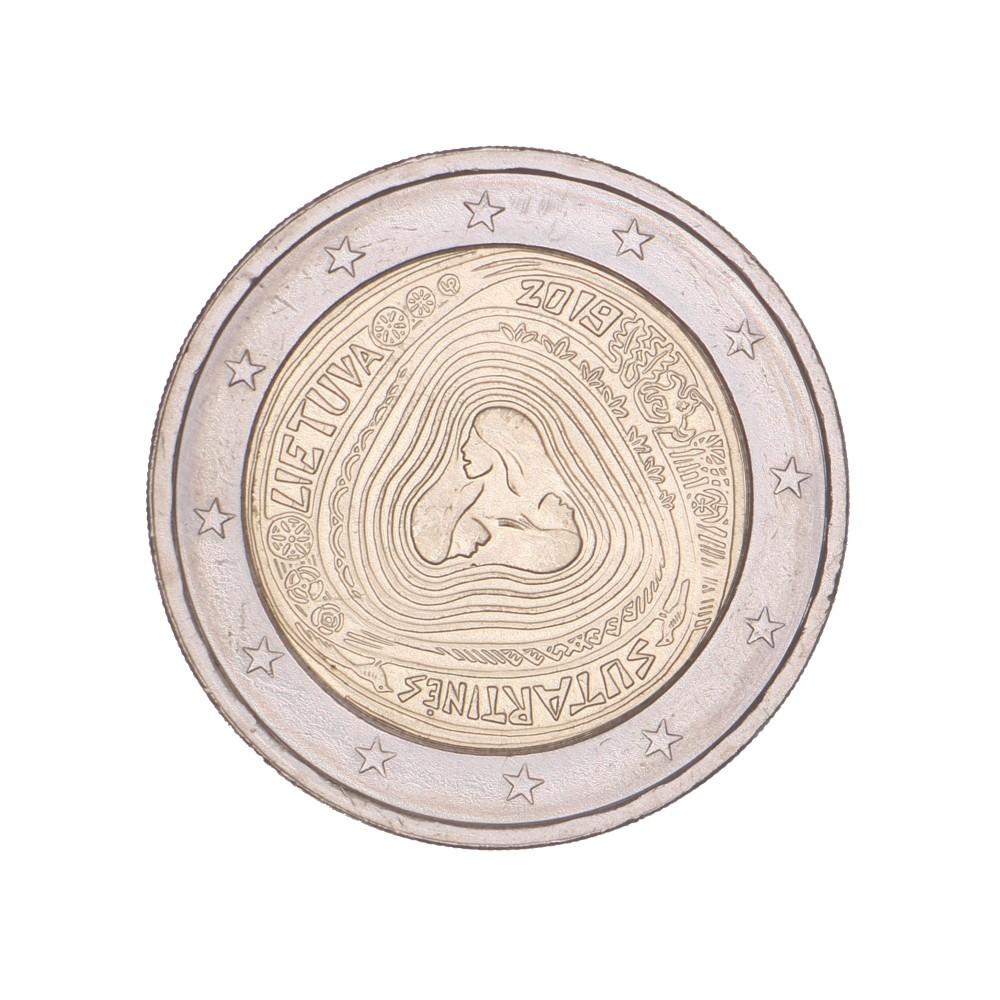 Litouwen 2 euro 2019 'Sutartines'