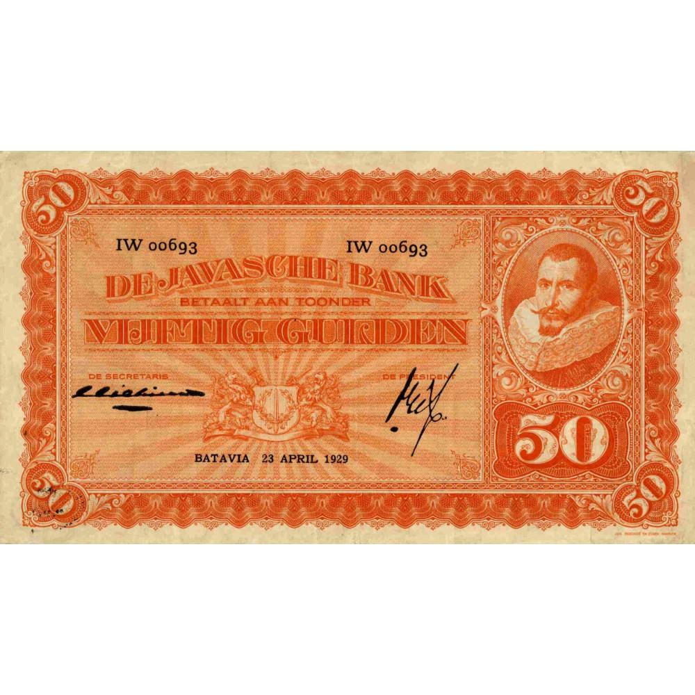 Nederlands Indië 50 gulden 1924