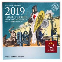Oostenrijk BU-Set 2019 '825 jaar Weense Munt'