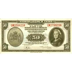 Nederlands Indië 50 gulden 1943