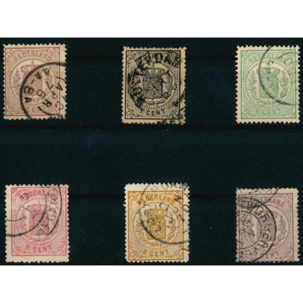 1869-1871 Nederland postzegels | Wapenzegels