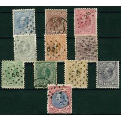 1872-1888 Nederland postzegels | Koning Willem III