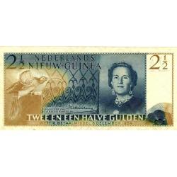 Nieuw-Guinea 2½ gulden 1954