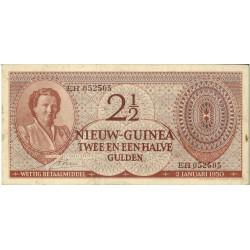 Nieuw-Guinea 2½ Gulden 1950