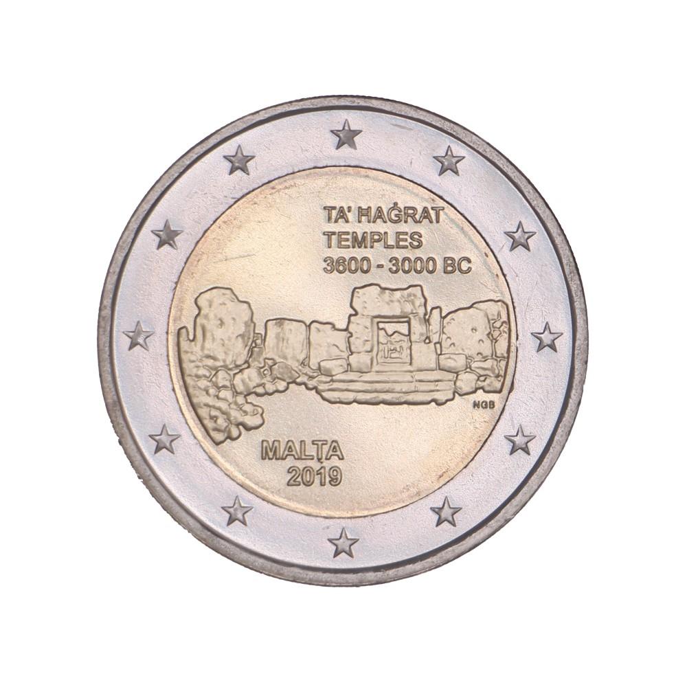 Malta 2 euro 2019 'Ta Hagrat Tempels'