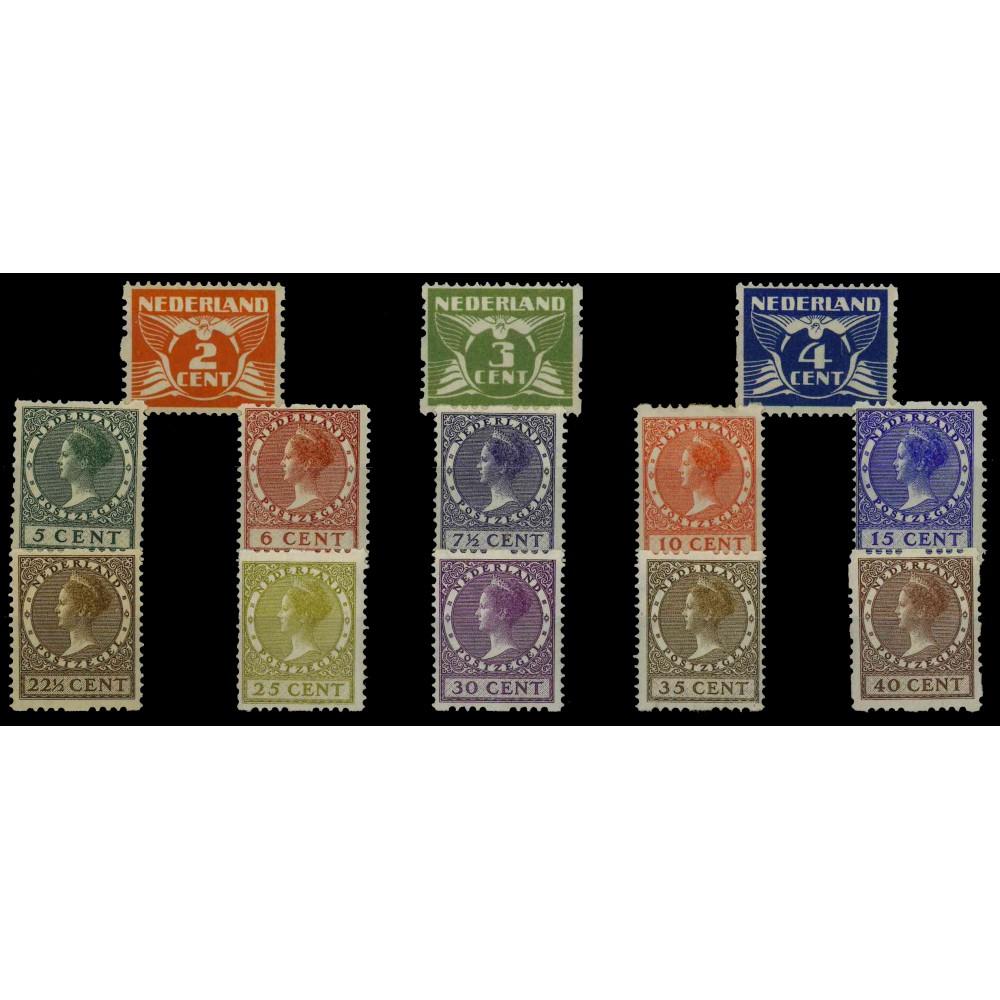 1926-1927 Nederland Roltanding | Tweezijdige roltanding