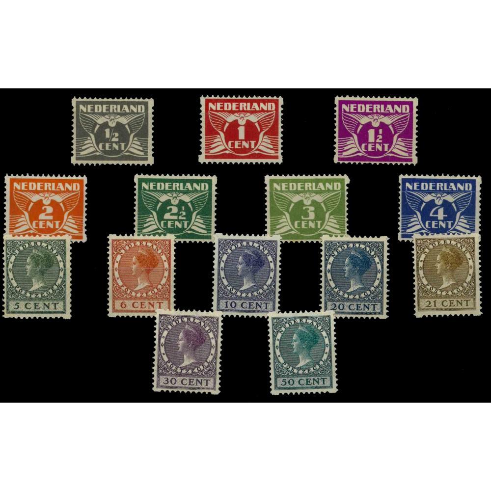 1930 Nederland Roltanding | Tweezijdige hoekroltanding