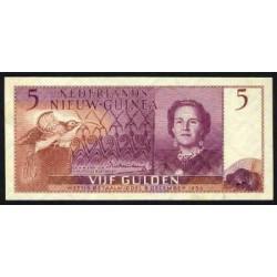 Nieuw-Guinea 5 gulden 1954
