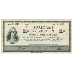 Suriname 1 gulden 1940
