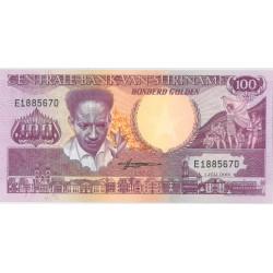Suriname 100 gulden 1986 - 1988