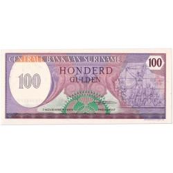 Suriname 100 gulden 1982 - 1985