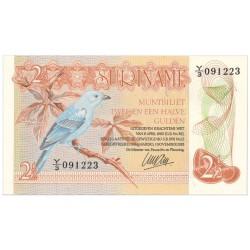 Suriname 2½ gulden 1973 - 1978