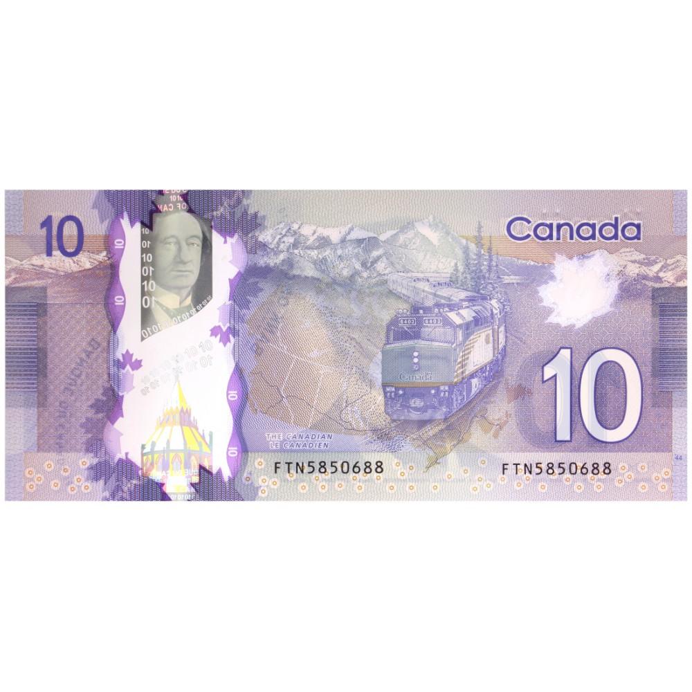 Canada 10 Dollar 2013 (polymeer)