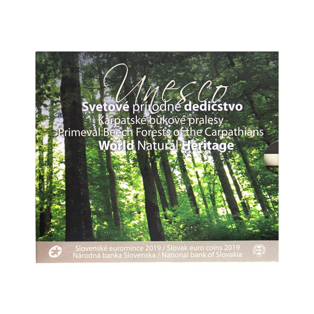 Slowakije BU-set 2019 'World Natural Heritage'