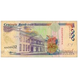 Suriname 5000 gulden 1991 - 1997