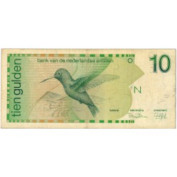 Nederlandse Antillen 10 gulden 1986