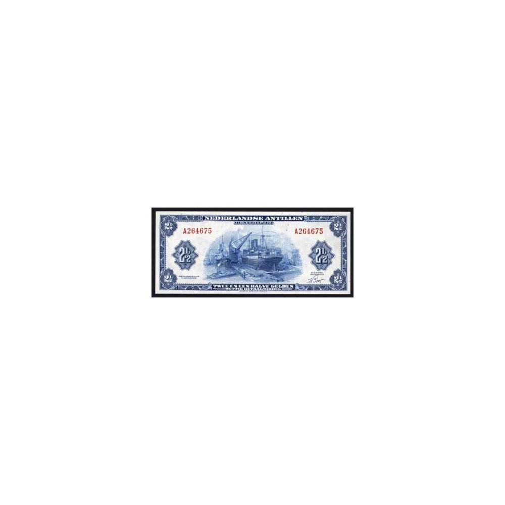 Nederlandse Antillen 2½ gulden 1955