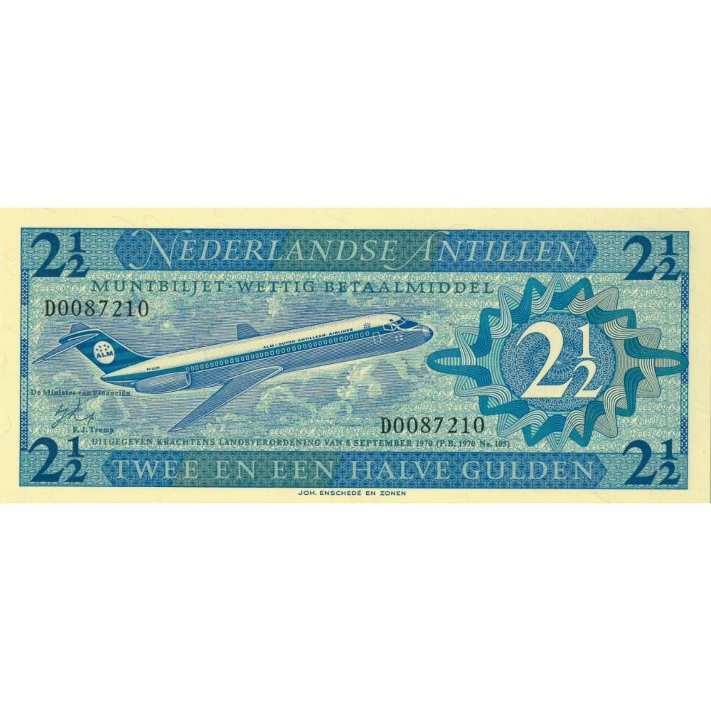 Nederlandse Antillen 2½ gulden 1970
