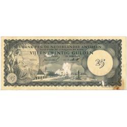 Nederlandse Antillen 25 gulden 1963