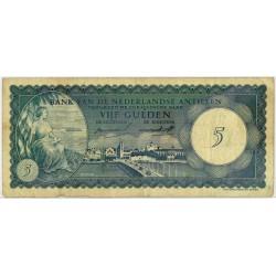 Nederlandse Antillen 5 gulden 1962