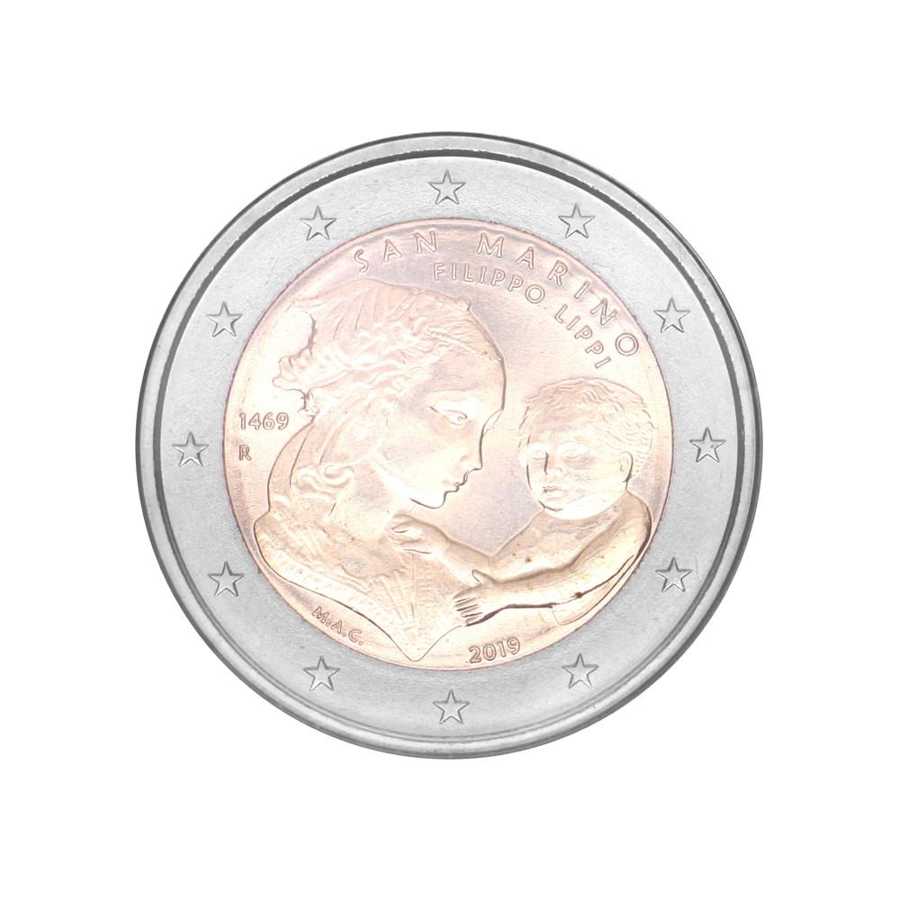 San Marino 2 euro 2019 in blister 'Filippo Lippi'