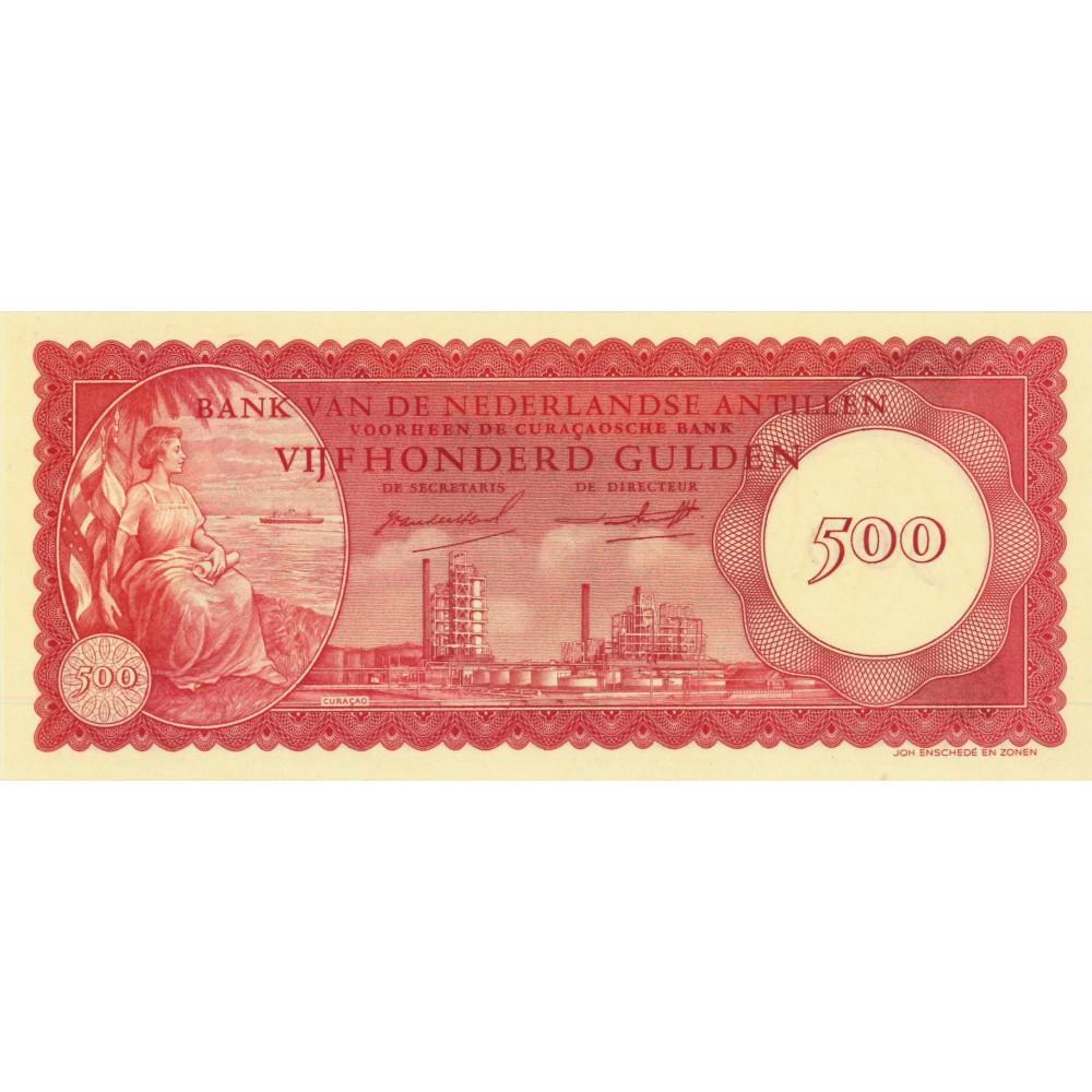 Nederlandse Antillen 500 gulden 1962