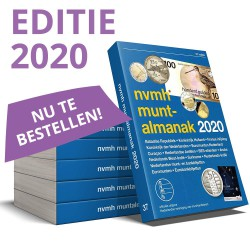 NVMH Muntalmanak 2020, incl. bankbiljetten en eurocatalogus