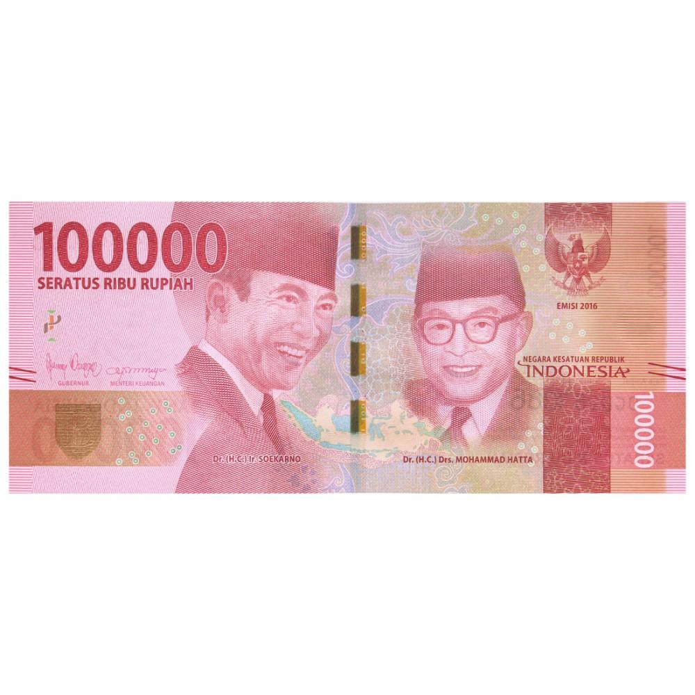Indonesië 100000 Rupiahs 2016