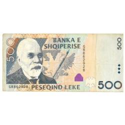 Albania 500 Leke 2007