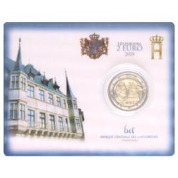 Luxemburg 2 euro 2019 '100 jaar stemrecht'