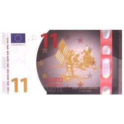 Europa 2019 souvenir biljet 11 euro 'eerste maanlanding'