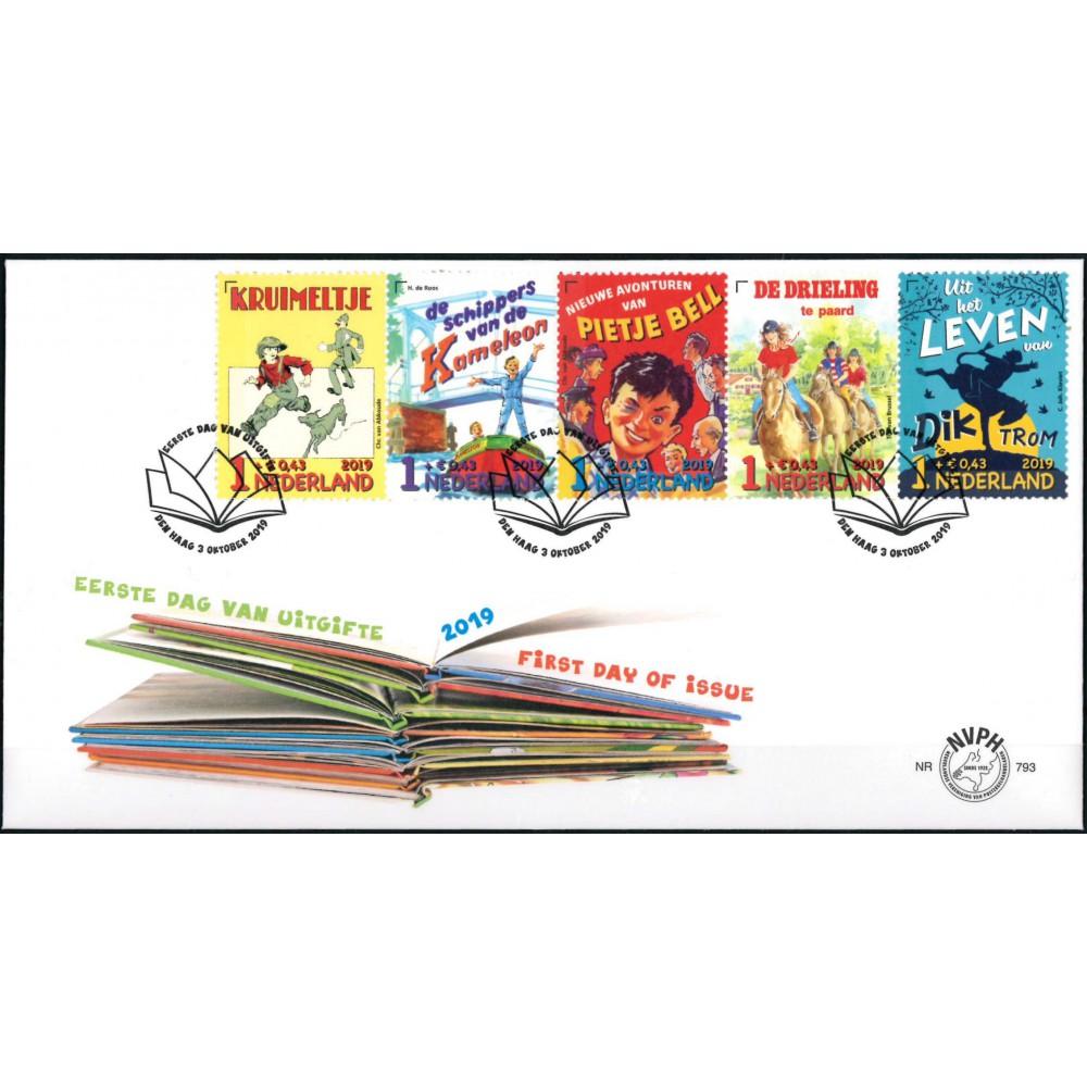 2019 Nederland FDC | Kinderpostzegels