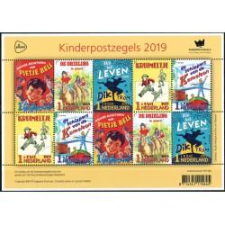 2019 Nederland Vel| Kinderpostzegels