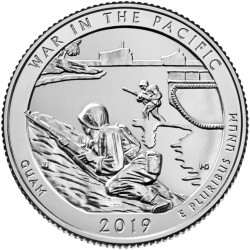 USA Quarter 2019 Guam 'War in the Pacific'