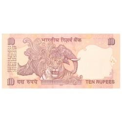 India 10 rupees diverse jaren EUROKNALLER