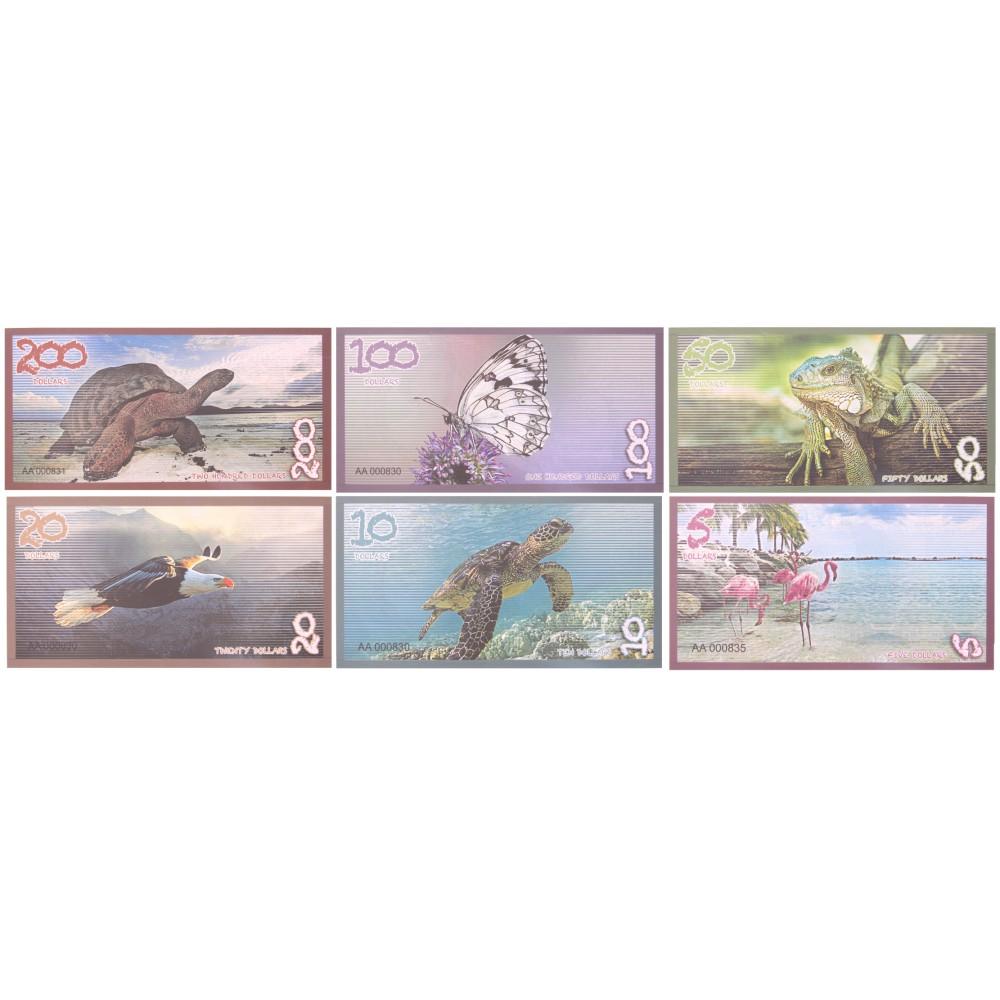 Seychellen Aldabra eiland serie dollars 2019