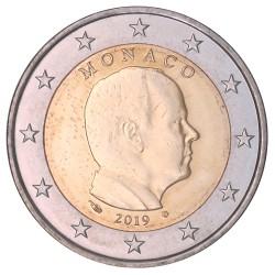 Monaco 2 euro 2019 circulatiemunt