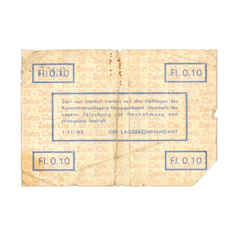 's Hertogenbosch - 10 cent 1943