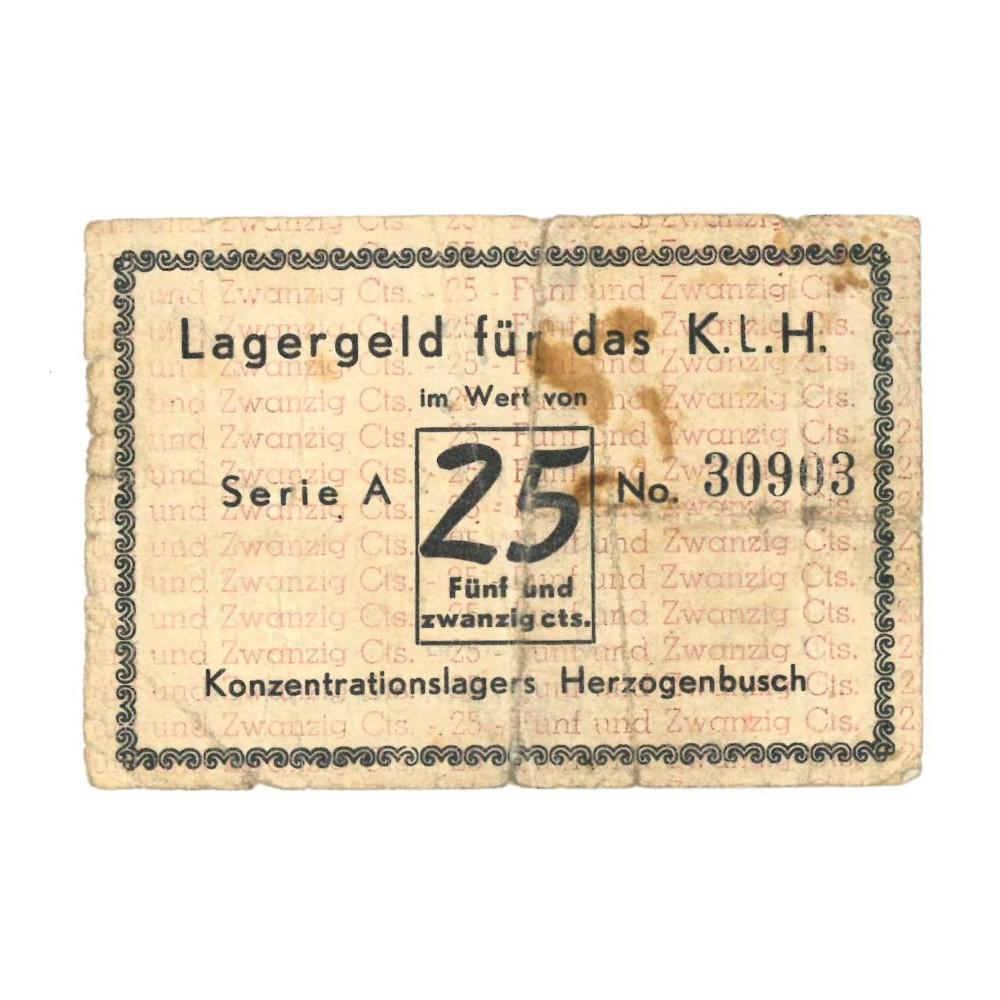 's Hertogenbosch - 25 cent 1943