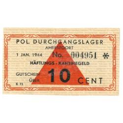 Amersfoort - 10 cent 1944