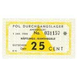 Amersfoort - 25 cent 1944