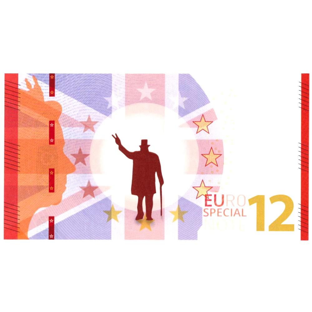 Europa 2019 souvenir biljet 12 euro 'Brexit'