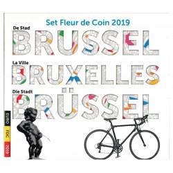 Belgie BU-set 2019 'de stad Brussel'
